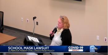 Karen Maskhole Sues School Board Over Facemasks