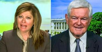 Maria Bartiromo Fumes With Newt Gingrich Over Biden's 'Systemic Racism' Remarks