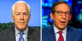 Chris Wallace Grills Cornyn For Suggesting Biden Not In Charge