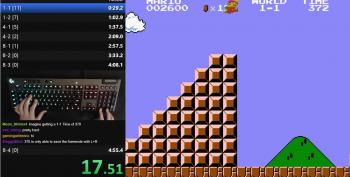 World Speed Record For Mario Bros. Broken