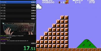 World Speed Record For Mario Bros. Broken