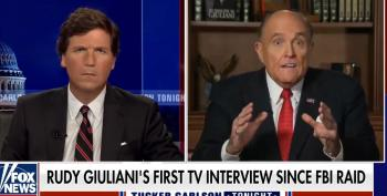 Prosecutors Will Love Giuliani's Crazy Interview With Tucker