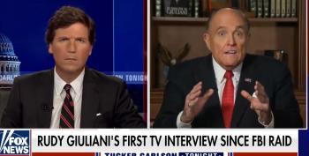 Prosecutors Will Love Giuliani's Crazy Interview With Tucker