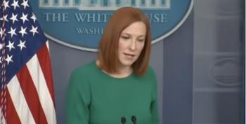 Jen Psaki Shuts Down Evangelical Reporter AGAIN
