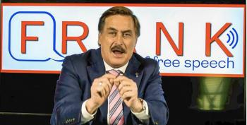 Lunatic Mike Lindell Says God Booked Him On Jimmy Kimmel's Show