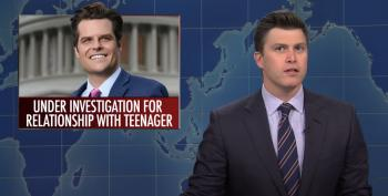 SNL Rips Gaetz For His Choice Of Character Witnesses