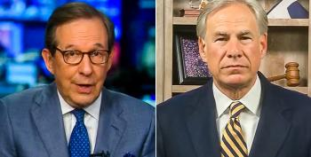 Chris Wallace: 'We Couldn't Find One Instance' Of Greg Abbott Talking About Migrant Sex Abuse Under Trump