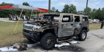 Florida Man Fills His Hummer With 4 5-Gallon Gas Cans And...