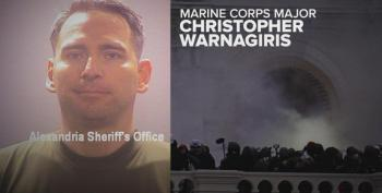 Active Duty Marine Officer Arrested For Insurrection Riot