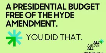 Biden Keeps Campaign Promise: No Hyde Amendment In Budget