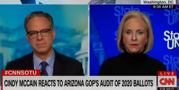Cindy McCain Calls Arizona Ballot Audit By Cyber Ninjas 'Ludicrous'