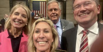 'Defiant' Republicans Refuse To Wear Masks On House Floor