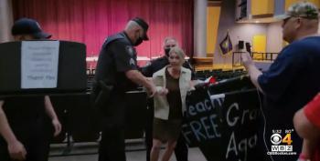 Grandma Karen Maskhole To Police: 'You Are Remiss!'