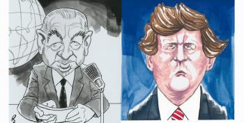 CARTOON: The Great Replacement Of Cronkite By Carlson