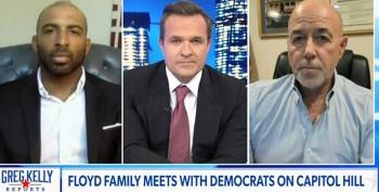 Newsmax Host Claims 'Lotta People Upset' George Floyd's Family Got A Settlement