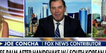 Joe Concha Admits Trump Didn't Develop COVID Vaccines