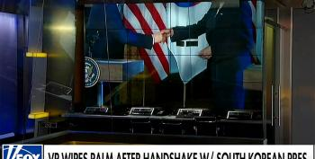 Fox News Horrified Over Kamala Harris Handshake