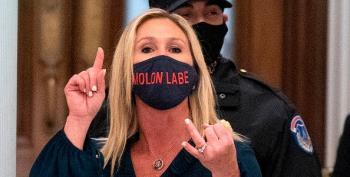 Taylor Greene Lies: 'Wasn't Trump Supporters Rioting On Jan 6'