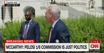 McCarthy Cuts Off His Own Presser When Asked About MAGA Riot