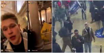 FBI Arrests Capitol Rioter After 'Epic' Video Of Him Fighting Police Is Seen On His Snapchat
