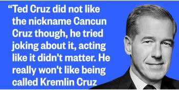 Brian Williams Redubs Ted Cruz As 'Kremlin Cruz'