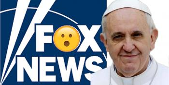 Did The Pope Tweet Fox News To Go To Hell?