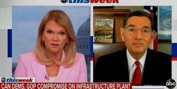 Raddatz Calls Out Barrasso's Infrastructure Lie In Real Time