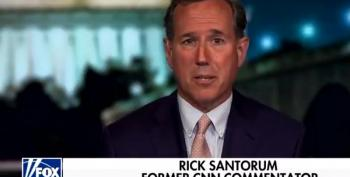 Rick Santorum Runs Crying To Fox After Being Fired From CNN