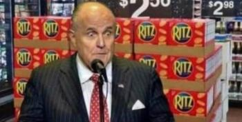 Rudy Is Trying To Bill Donald Trump For Services Rendered