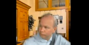 Ohio State Senator Participates In Video Meeting While Driving