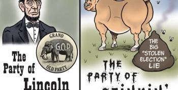 CARTOON: The Party Of Lincoln...