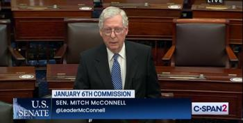 Mitch McConnell Now Proclaims He'll Obstruct January 6 Commission