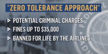 FAA Announces Zero Tolerance: $35K Fine For Maskholes