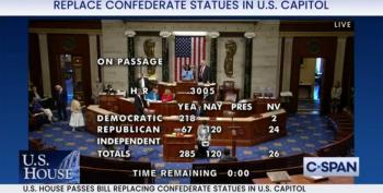 120 Republicans Side With The Confederacy