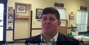'Report: Rep. Steven Palazzo Spent Campaign Money To Fight Allegations He Misspent Campaign Money'
