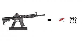 Judge:  AR15's Are 'Like The Swiss Army Knife'