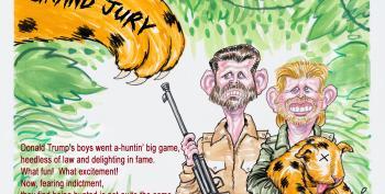 Cartoon: Big Game