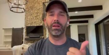 Is He High? Don Jr. Posts Bizarre Video On Social Media
