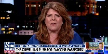 Twitter Finally Suspends Anti-Vaxx Whackaloon Naomi Wolf