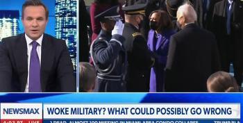 Newsmax Host Greg Kelly Accuses General Milley Of Hitting On VP Harris