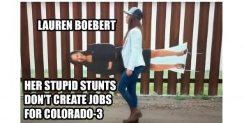 Boebert's Voters Are 'Fed Up' With Her After Six Months