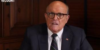 Rudy Giuliani's New Gig: My Pillow Ads