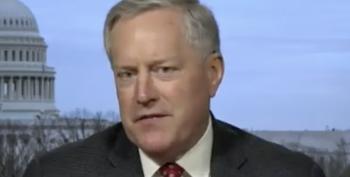 Mark Meadows Pressured DOJ To Investigate Deranged Voter Fraud Theories