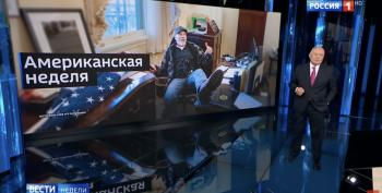 Capitol Insurrectionist Stars On Russian State TV