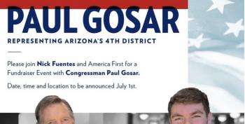 Republican Paul Gosar Attended Holocaust Denier's Fundraiser
