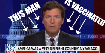 Tucker Equates Vaccine Mandates With Jim Crow Racism