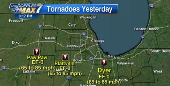Powerful Tornadoes Touch Down In Chicago Suburbs Overnight