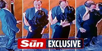 UK Health Secretary Seen 'Snogging' Aide On CCTV Footage