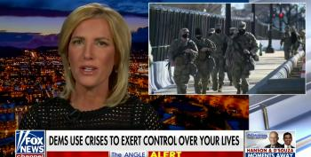 Ingraham With A Straight Face: 'There Was No Insurrection'