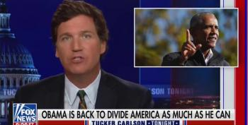Tucker Should Keep The Words 'Barack Obama' Outta His Mouth